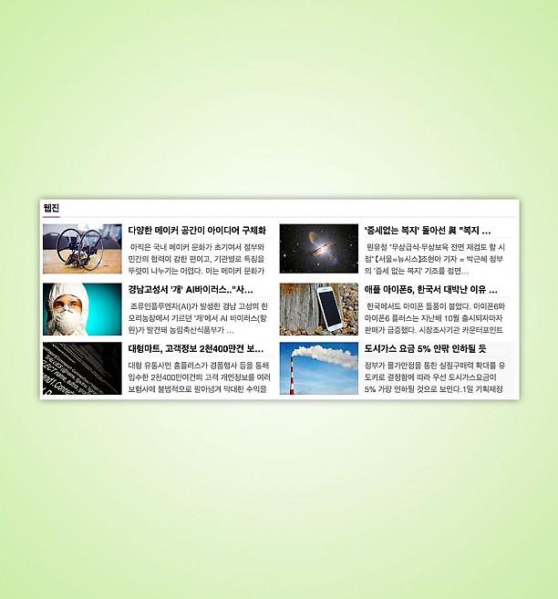 EBL PC Webzine 스킨